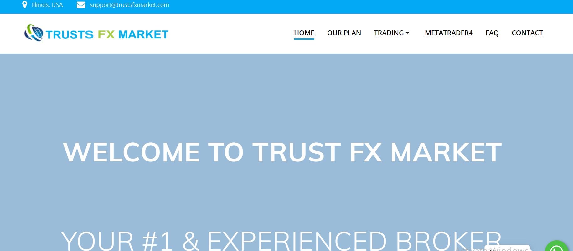 TrustsFXMarket website