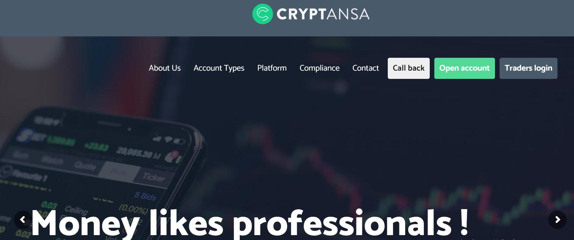 Cryptansa website