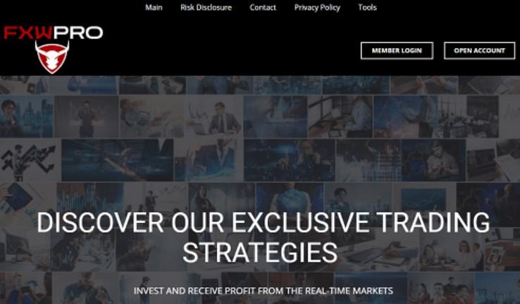 FXWpro website