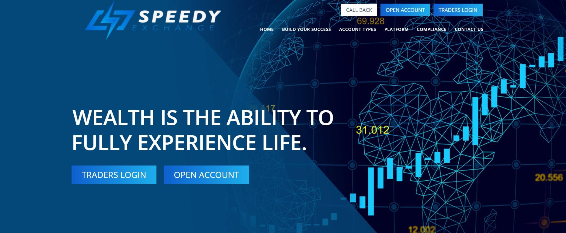 Speedyexchange website
