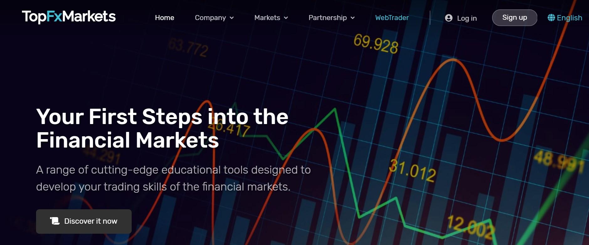 TopFxMarkets website