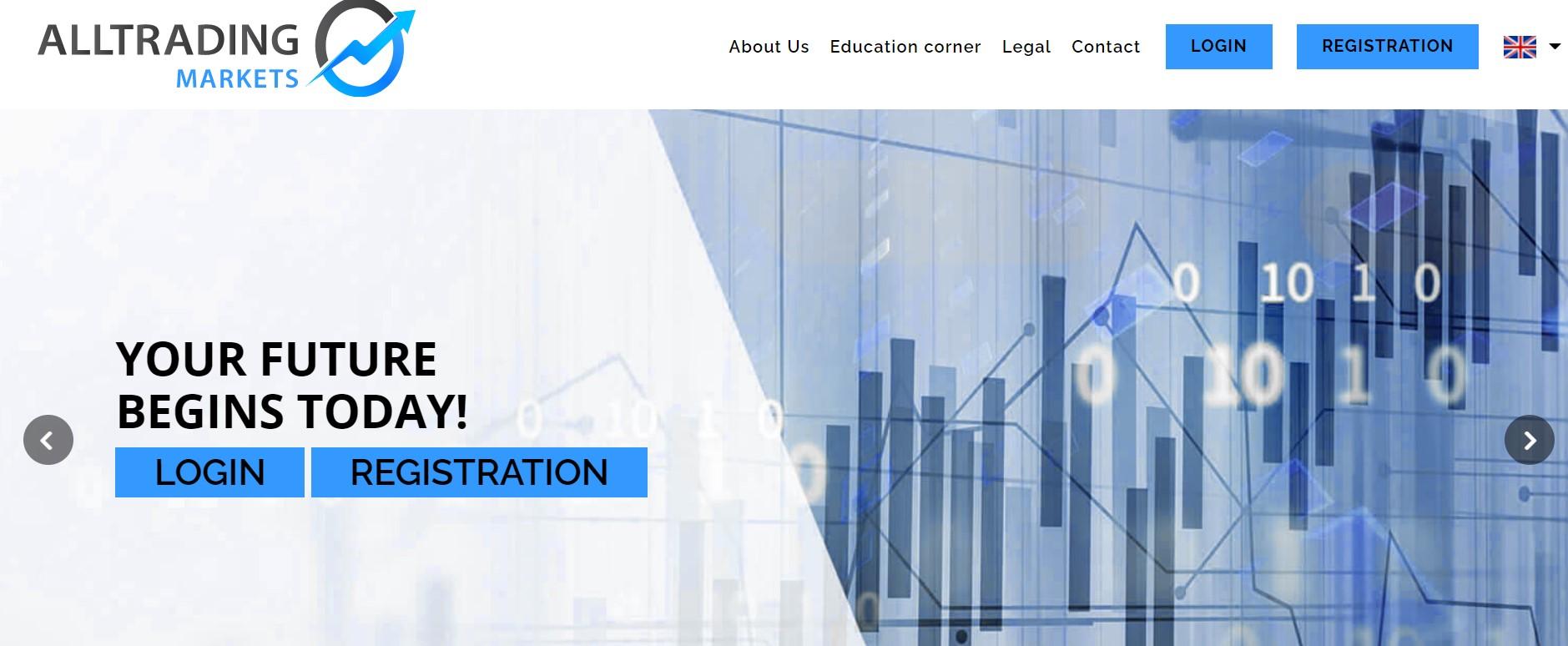 AllTrading Markets website