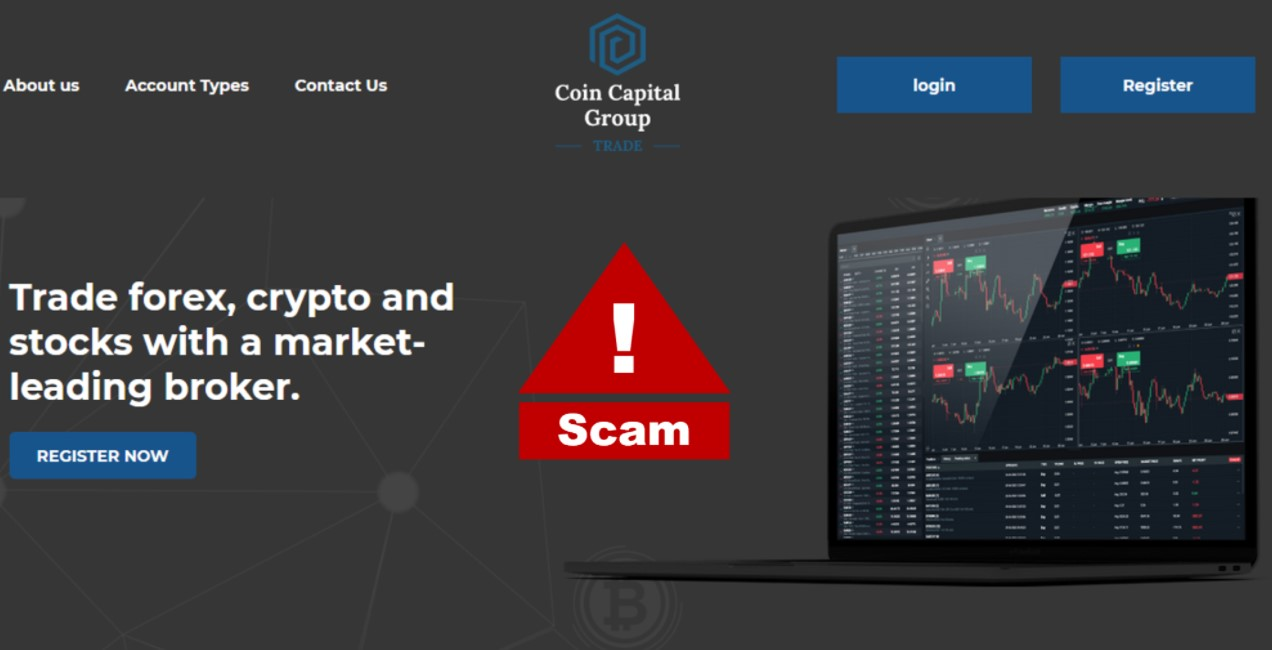 Coin Capital Group Trade website